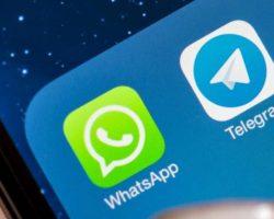 Telegram gana a WhatsApp la primera batalla del año