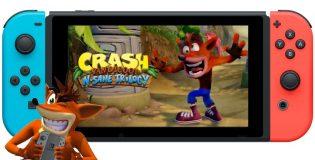 Crash Bandicoot salta a la plataforma Nintendo